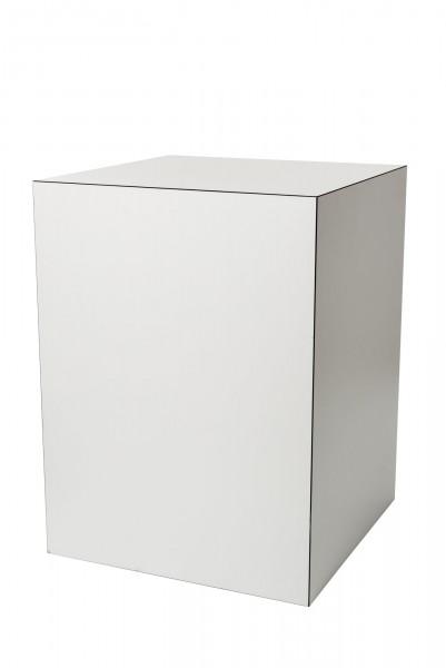 Stehtisch Cubus 80 x 80 cm H. 107 cm