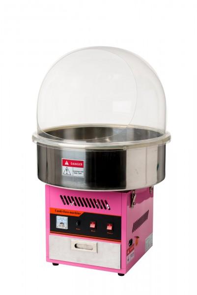 Zuckerwatte Maschine mit Spuckschutzhaube