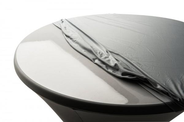 Schutzplatte transparent 80 cm für Steh-/ Bistrotisch