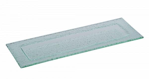 Glasplatte VETRO 33 x 12 cm