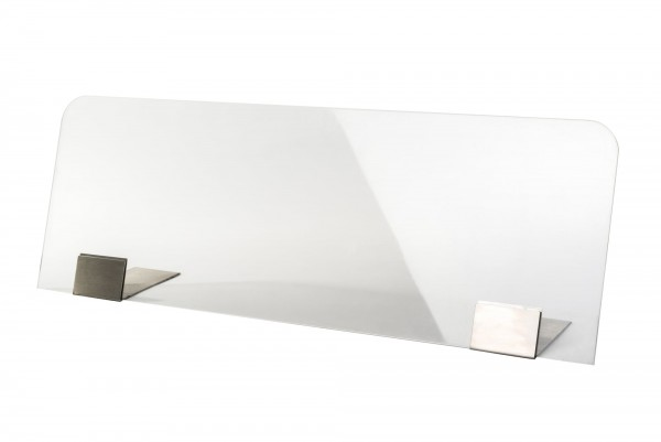 Spuckschutz Plexiglasblende 98 x 35 cm