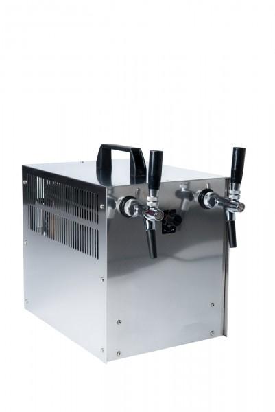 Zapfanlage 60 l / h Auftisch zweileitig