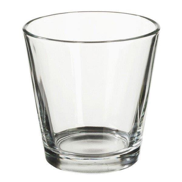 Teelichthalter Glas Ø 7cm H. 6cm