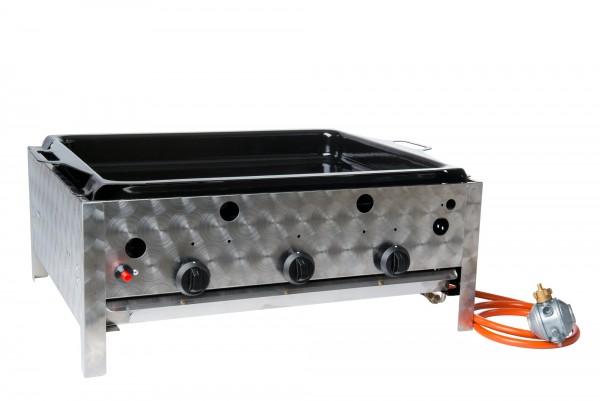 Gasbräter 3- flammig Tischgerät