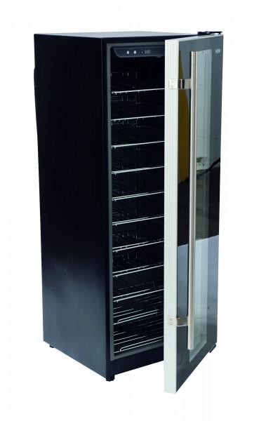 Weinkühlschrank mit Glastür 169 l