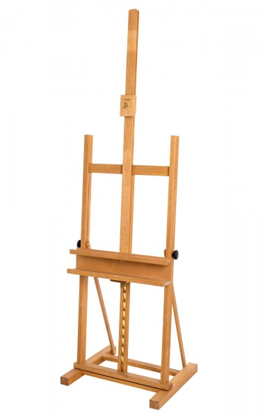 Staffelei 67 x 95 cm, H. 150-240 cm
