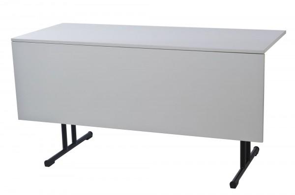 Konferenztisch Turin 138 x 60 cm inkl. Vorplatte