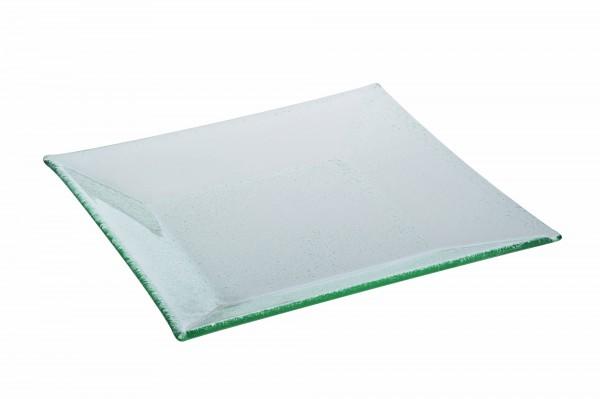 Glasteller VETRO 40 x 40 cm