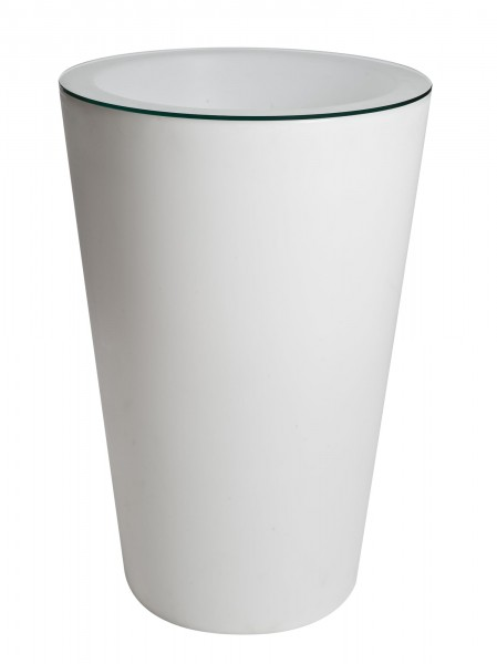 Light Pot Ø 72 cm H. 107 cm inkl. Glasplatte